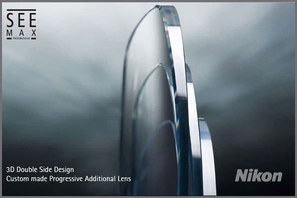 SEE Max Progressive Lenses By Nikon