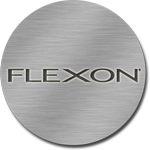 Flexon - Trademarked for a shape memory alloy of titanium that is used to make eyeglass frames